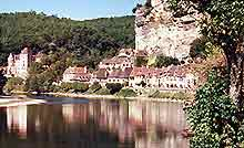 The Dordogne River in France
